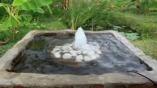 simple step fountain build