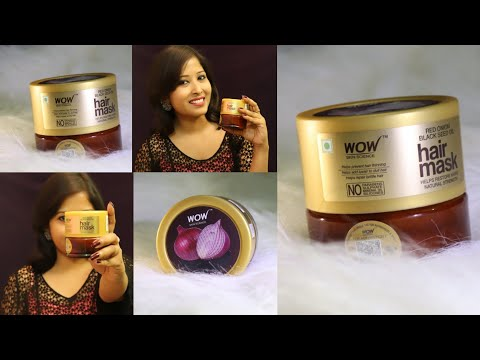 wow-hair-mask-:-wow-red-onion-&-black-seed-hair-mask-review-+-live-result-summer-hair-mask