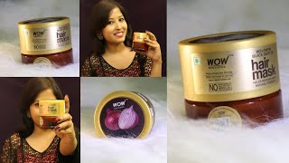 2020 First impression wow red onion black seed hair mask review live result SUMMER HAIR MASK