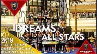 Dreams All Stars Cheerleaders Jakarta I@TheATeam Cup Regional Jakata [@Neokylight_Media]