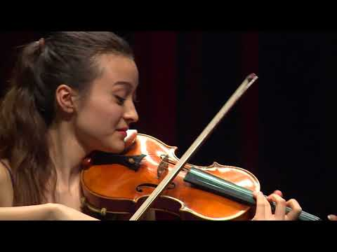 SUMINA STUDER  Menuhin Competition 2018 Senior first rounds - day 1