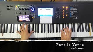 My Testimony - Piano Tutorial Melody by Elevation Worship