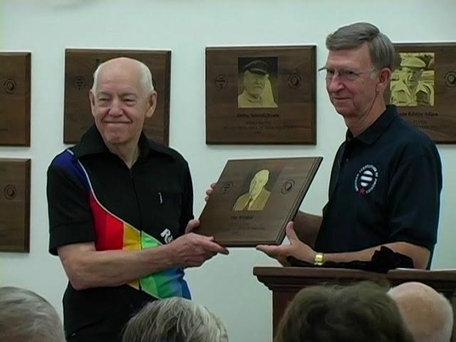 2009 Hall Of Fame  Winker