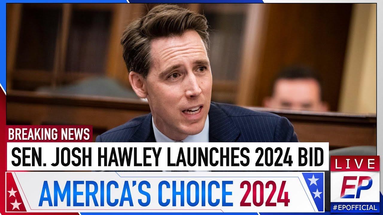 Josh Hawley Begins Presidential Run I 2024 Primary EP #4