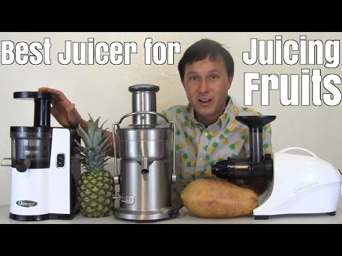 Fruit Juicing - Best Home Juicer to Make Fresh Fruit Juice