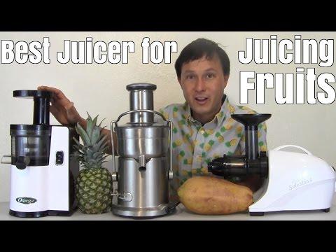 Fruit Juicing - Best Home Juicer to Make Fresh Fruit Juice