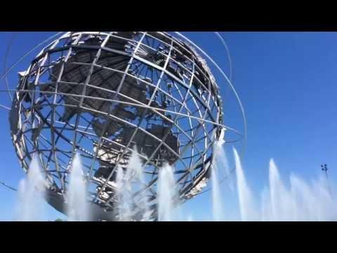 Unisphere Flushing Meadows Corona Park NYC/ Love travel USA