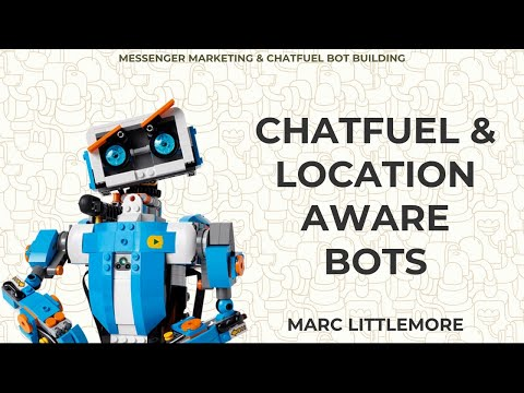 Create a location-aware chatbot using Chatfuel