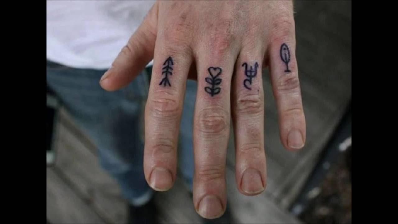 Tatuajes Pequeños En Los Dedos Para Hombre Y Mujer Youtube