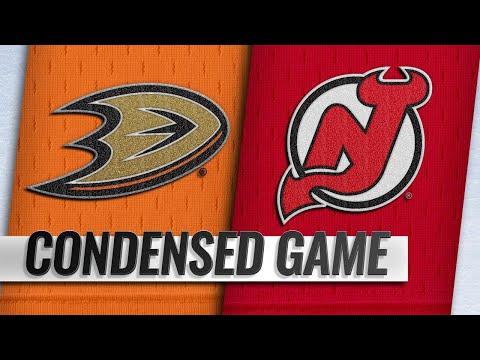 01/19/19 Condensed Game: Ducks @ Devils