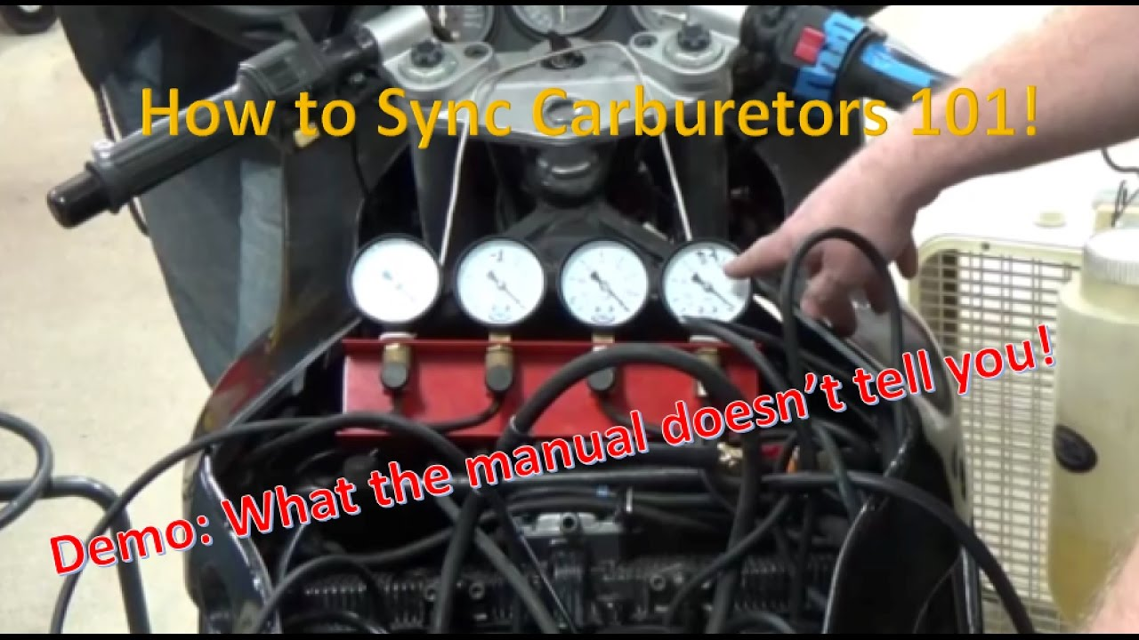 how to sync carburetors throttle bodies the right and wrong way  [ 1280 x 720 Pixel ]