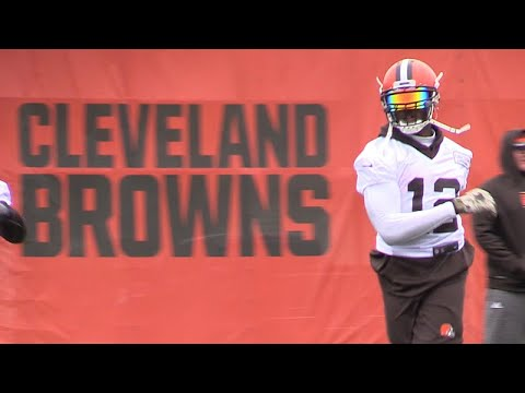 Josh Gordon returns to Browns practice