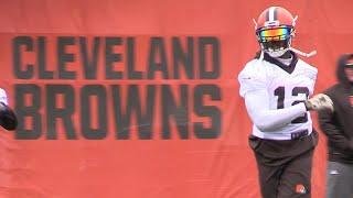 Josh Gordon returns to Browns practice