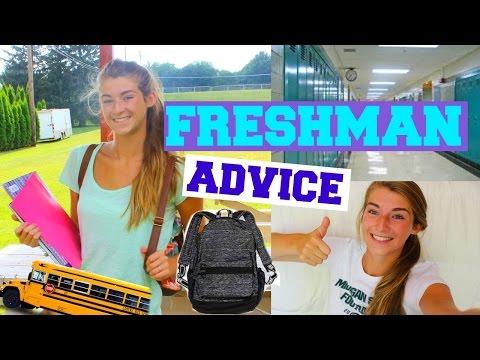 Freshman Advice For High School!