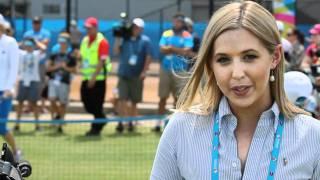 kids tennis day brisbane international 2012