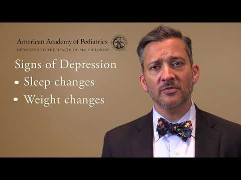AAP Offers Advice and Tips on Helping Teenagers Suffering with Depression, Anxiety and Suicidality
