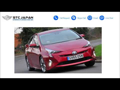 Japanese Used TOYOTA PRIUS Cars for Sale in Ireland