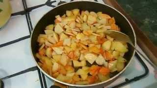 Картошка.Очень простой ужин