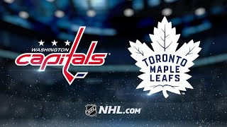 Ovechkin's hat trick leads Capitals past Leafs, 3-2