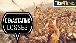 10 Major Roman Military Defeats