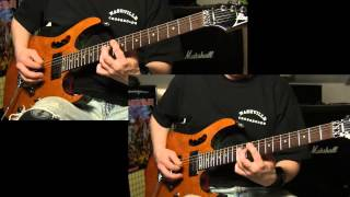 Savatage Power of the Night guitar cover