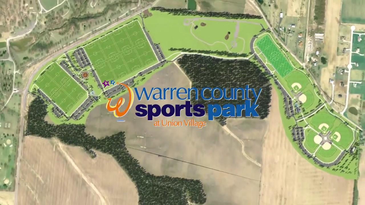 Warren County Sports Park At Union Village Youtube