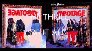 Watch Black Sabbath The Thrill Of It All video