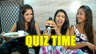 Quiz time with Niti, Krissan and Charlie  From the sets of Kaisi Yeh Yaariyaan