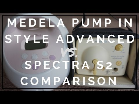 Medela Pump In Style Advanced VS. Spectra S2 Comparison // Momma Alia