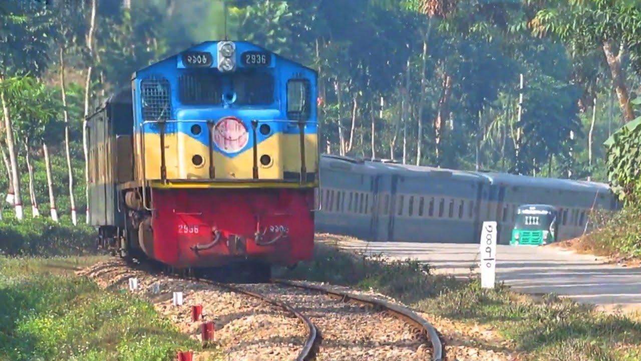 চা বাগানের ভিতর দিয়ে ট্রেনের সৌন্দর্য?? || train in a tea garden Joyantika express || Sylhet