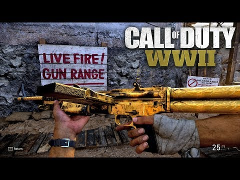 ROAD TO CHROME (GOLD M1941) - Call of Duty: WW2 Multiplayer Gameplay PS4 PRO