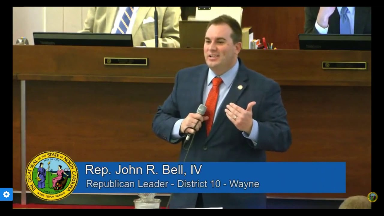 Majority Leader John Bell Supports Bill to Provide In-Person Learning Option for K-12 Students