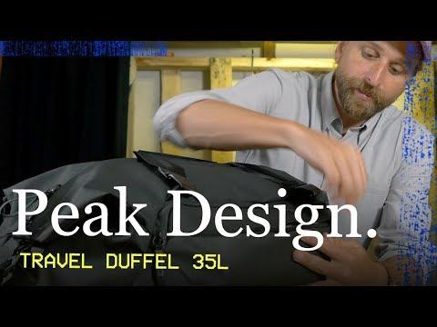 Download PEAK DESIGN TRAVEL DUFFEL (35L)