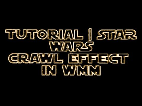 tutorial | how to do the star wars crawl effect in windows movie, Powerpoint templates