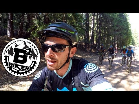 WE MADE THE SECOND SHUTTLE | Mountain Biking Downieville with fans of B1KER