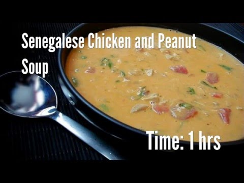 Senegalese Chicken and Peanut Soup Recipe
