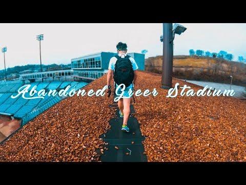 Abandoned Greer stadium - Explored