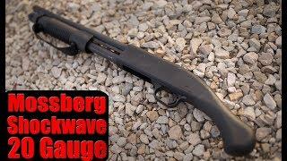 Mossberg Shockwave 20 Gauge First Look