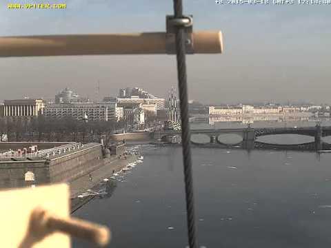 Широкоугольная веб камера на Петропавловке онлайн со звуком