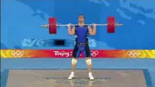 Men's Weightlifting - 94KG - Final - Beijing 2008 Summer Olympic Games