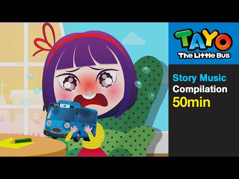 Miss Polly Had a Dolly and More (50 mins) l Nursery Rhymes l Tayo the Little Bus