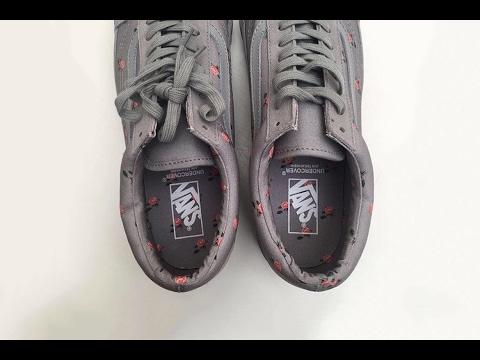 02425e5e0e Vans x UNDERCOVER OG Old Skool Lx Grey + Burgundy Sneaker Unboxing +  Jackthread Pickup