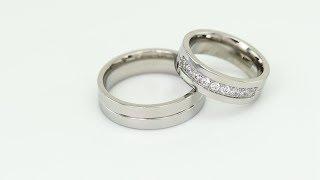 2e8b6533f2b Zlaté svatební prsteny s diamanty Luky