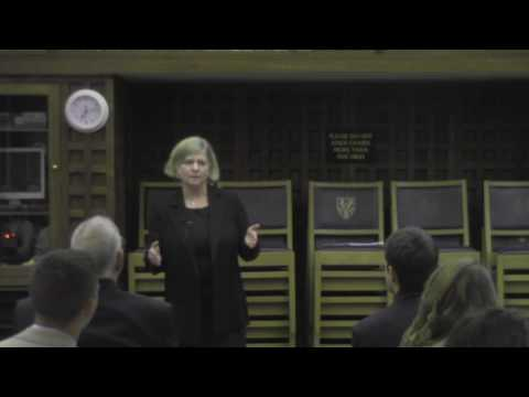 Sarah Whitehouse Speaking at Trinity College, Oxford