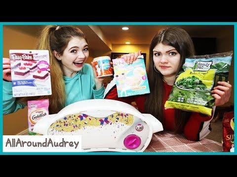 Crazy Mixed Up Mini Cake Challenge / AllAroundAudrey