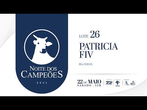 Lote 26   Patricia FIV   SERI 85 Copy