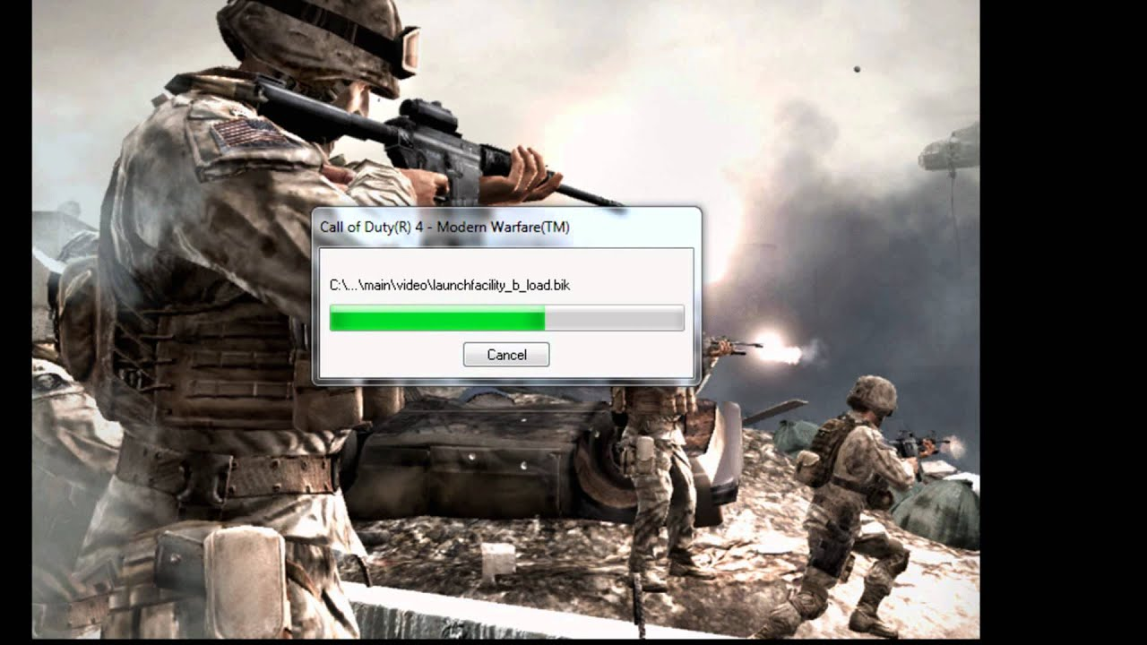 how to install call of duty 4 modern warfare