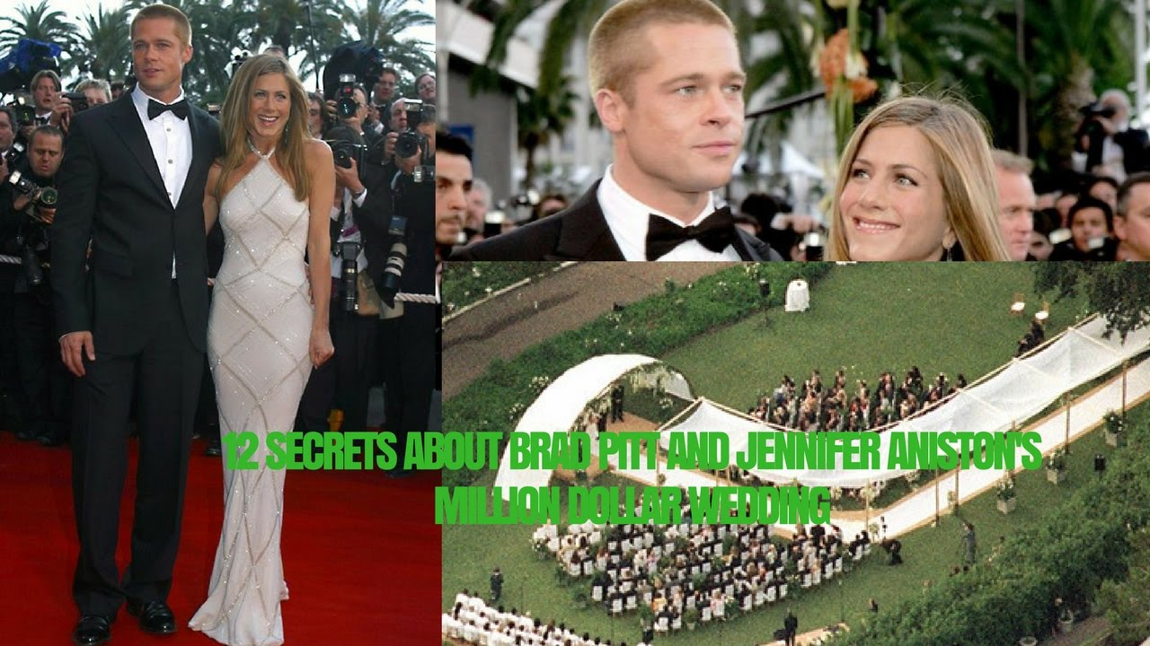 12 Secrets About Brad Pitt And Jennifer Aniston's Million