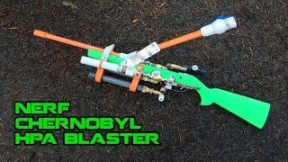 Chernobyl NERF HPA Rifle+Shotgun Blaster | Walcom S7