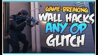 GAME-BREAKING WALL HACK GLITCH!!! - SHOOT THROUGH CONCRETE - BANK GLITCH (Rainbow Six Siege)